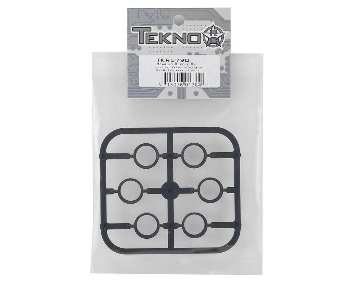 Tekno RC 8x14x4mm Bearing Sleeve Set (6)