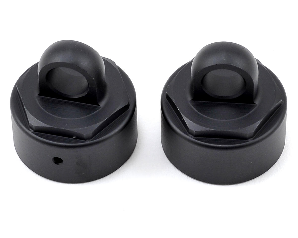 Tekno RC MT410 Aluminum Non-Vented Shock Caps (2)