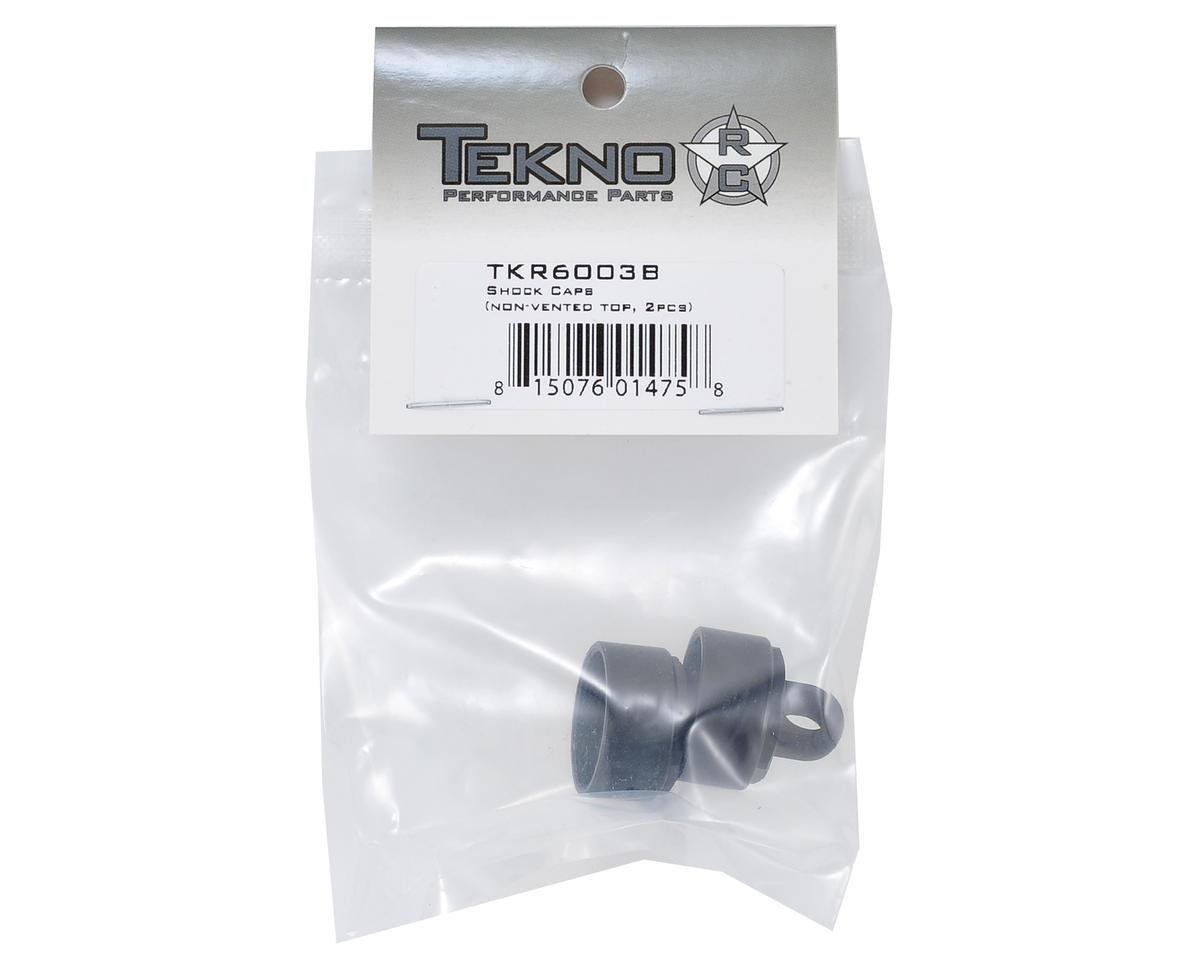 Tekno RC Aluminum Non-Vented Shock Caps (2)