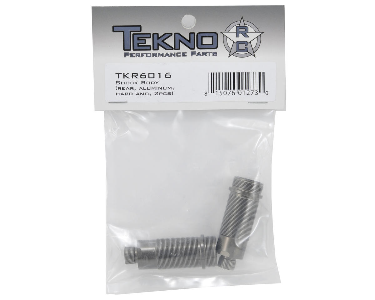 Rear Aluminum Shock Body Set (2) by Tekno RC