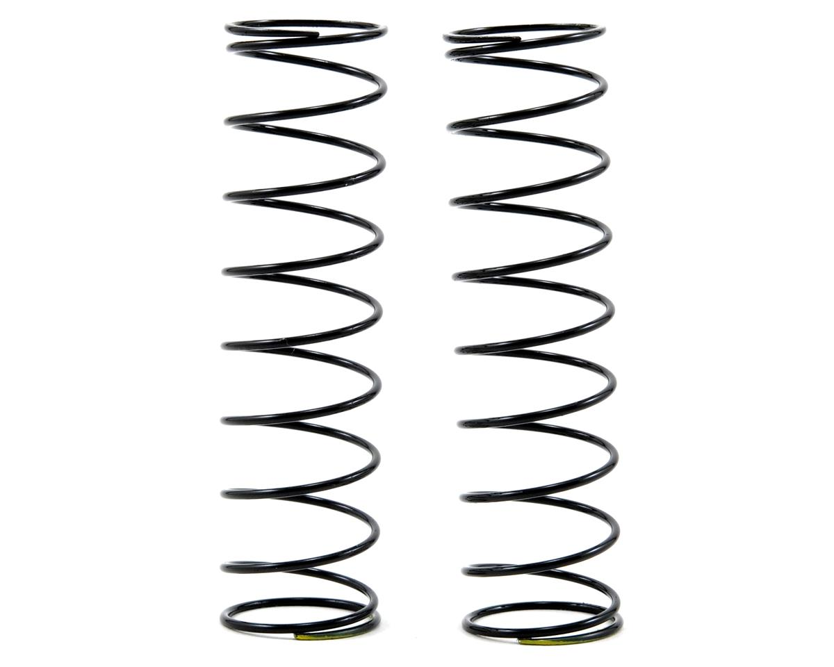 85mm Rear Shock Spring Set (Yellow) (1.4 x 10.0T) by Tekno RC