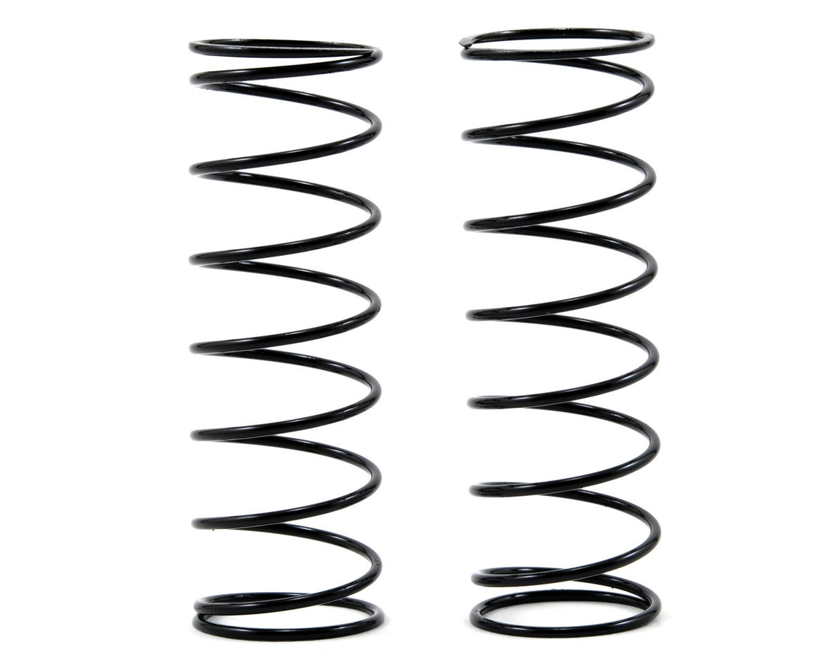 70mm Front Shock Spring Set (Green) (1.5 x 8.5T) by Tekno RC