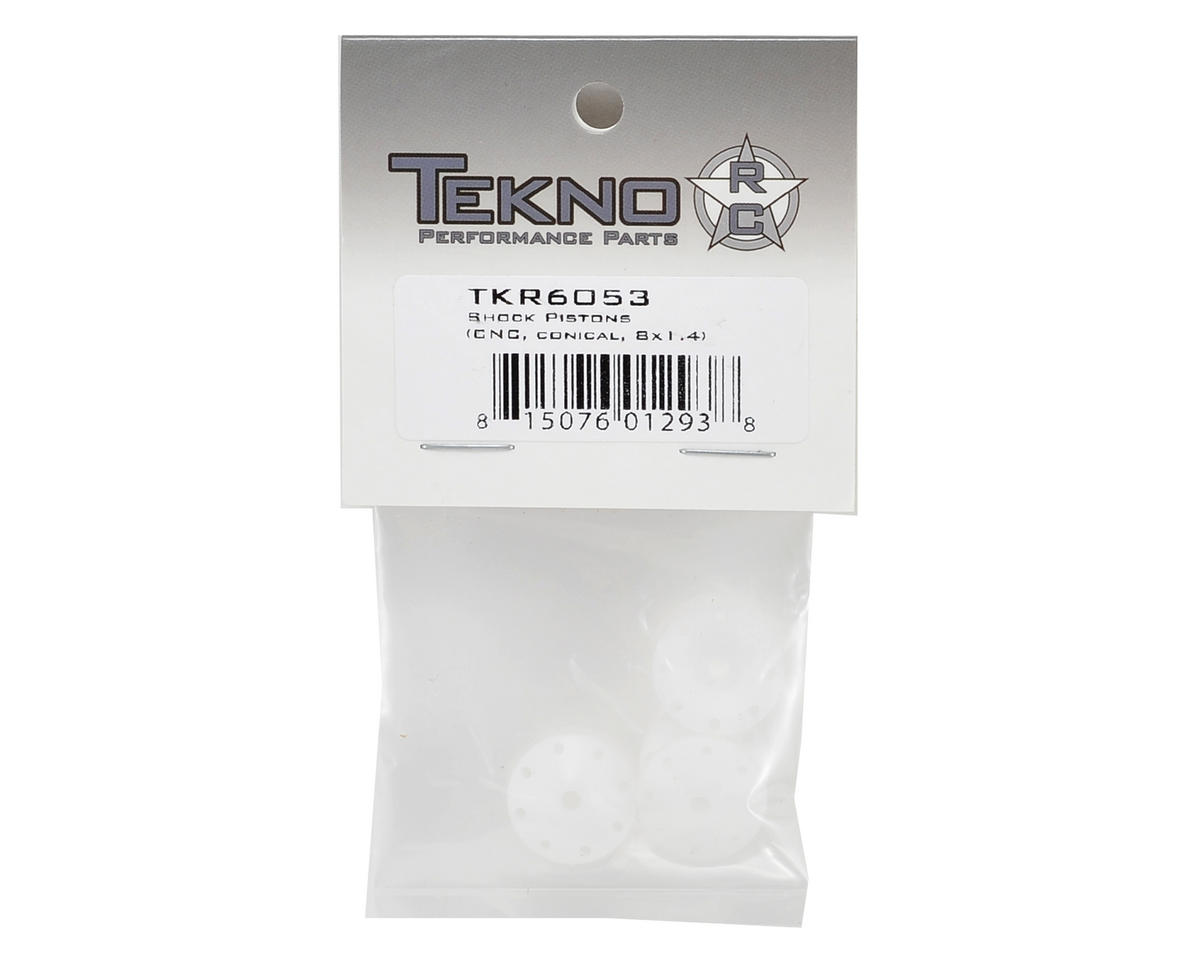 Tekno RC CNC Conical Shock Pistons (8x1.4mm)