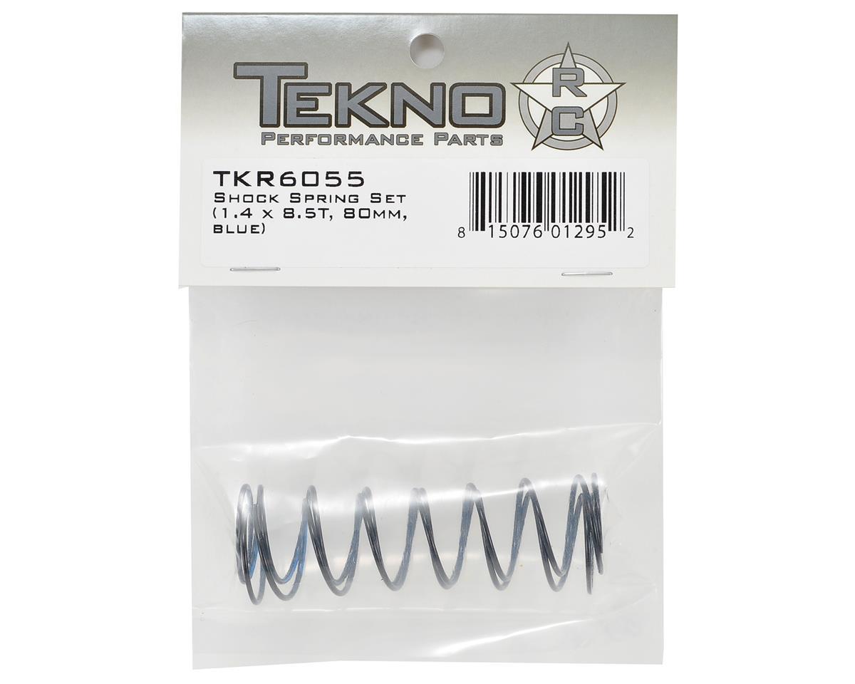 Tekno RC 80mm Rear Shock Spring Set (1.4 x 8.5T) (2)