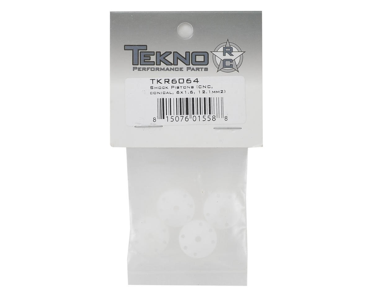 Tekno RC CNC Conical Shock Pistons (6x1.6mm)
