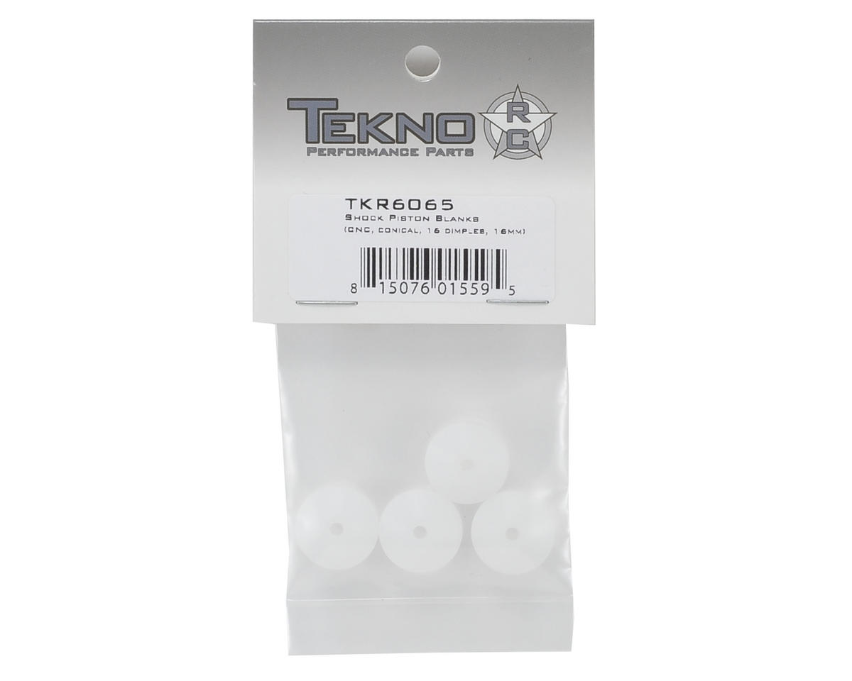 Tekno RC 16mm CNC Conical Shock Piston (4) (Blank)