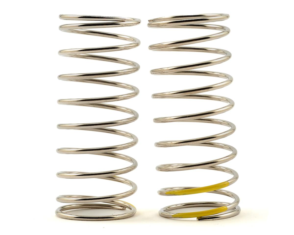 Tekno RC Low Frequency 57mm Front Shock Spring Set (Yellow - 4.44lb/in)
