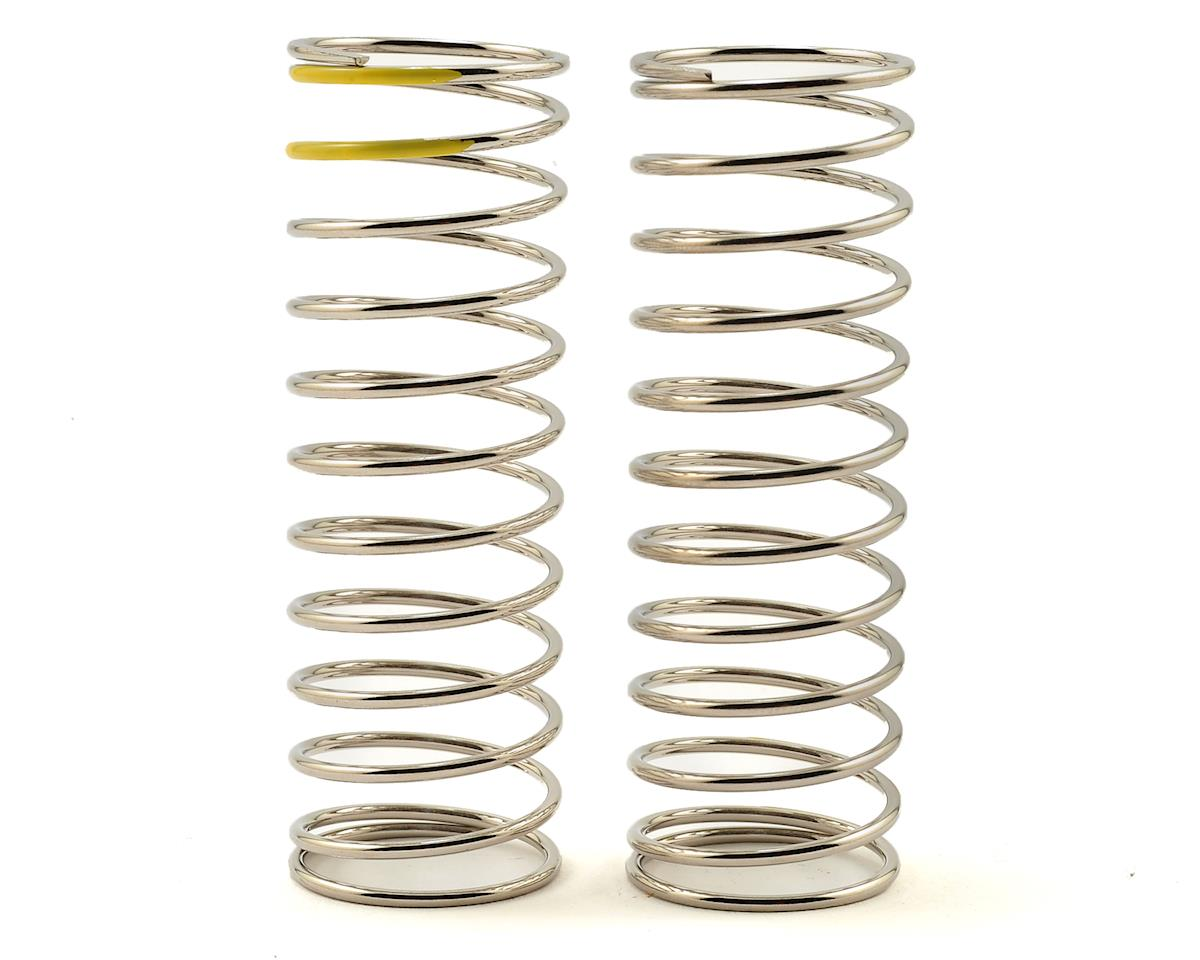 Low Frequency 70mm Rear Shock Spring Set (Yellow - 2.56lb/in) by Tekno RC