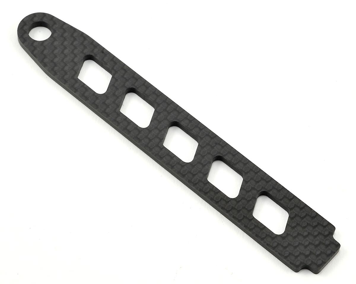 Tekno RC EB410/ET410 Carbon Fiber Battery Strap