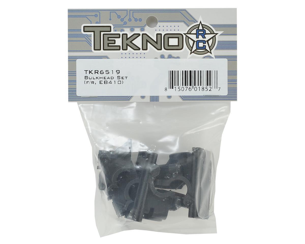 Tekno RC EB410 Front & Rear Bulkhead Set