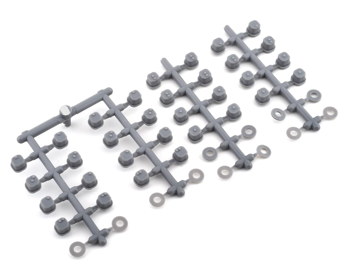 Tekno RC EB410.2 Hinge Pin Inserts & Wheelbase Shims