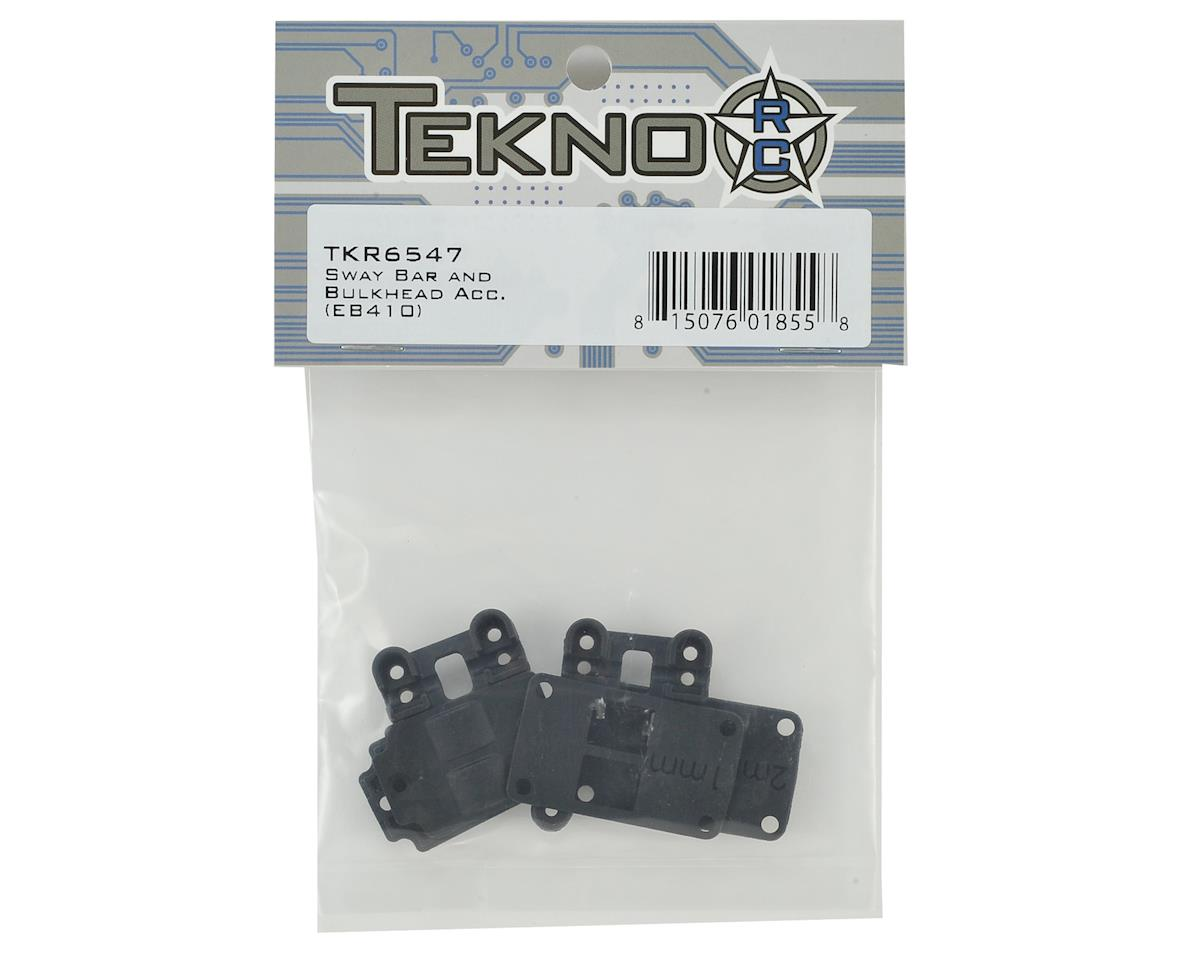 Tekno RC EB410 Sway Bar & Bulkhead Accessories