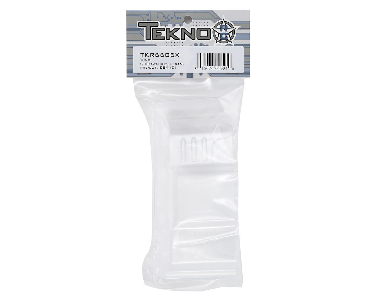 Tekno RC EB410/ET410 1/10 Pre-Cut Lexan Wing (Light Weight)