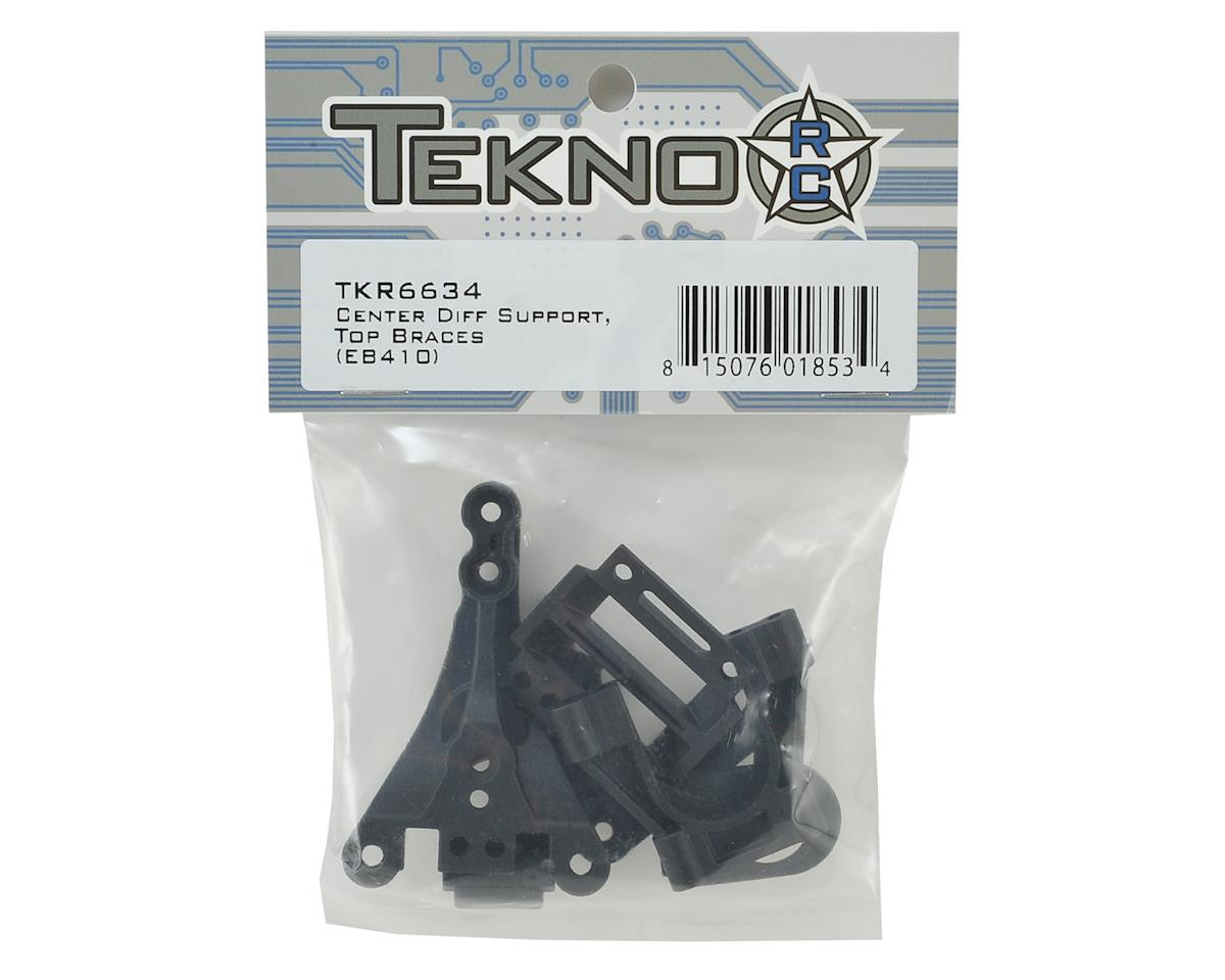 Tekno RC EB410 Center Differential Support & Top Braces