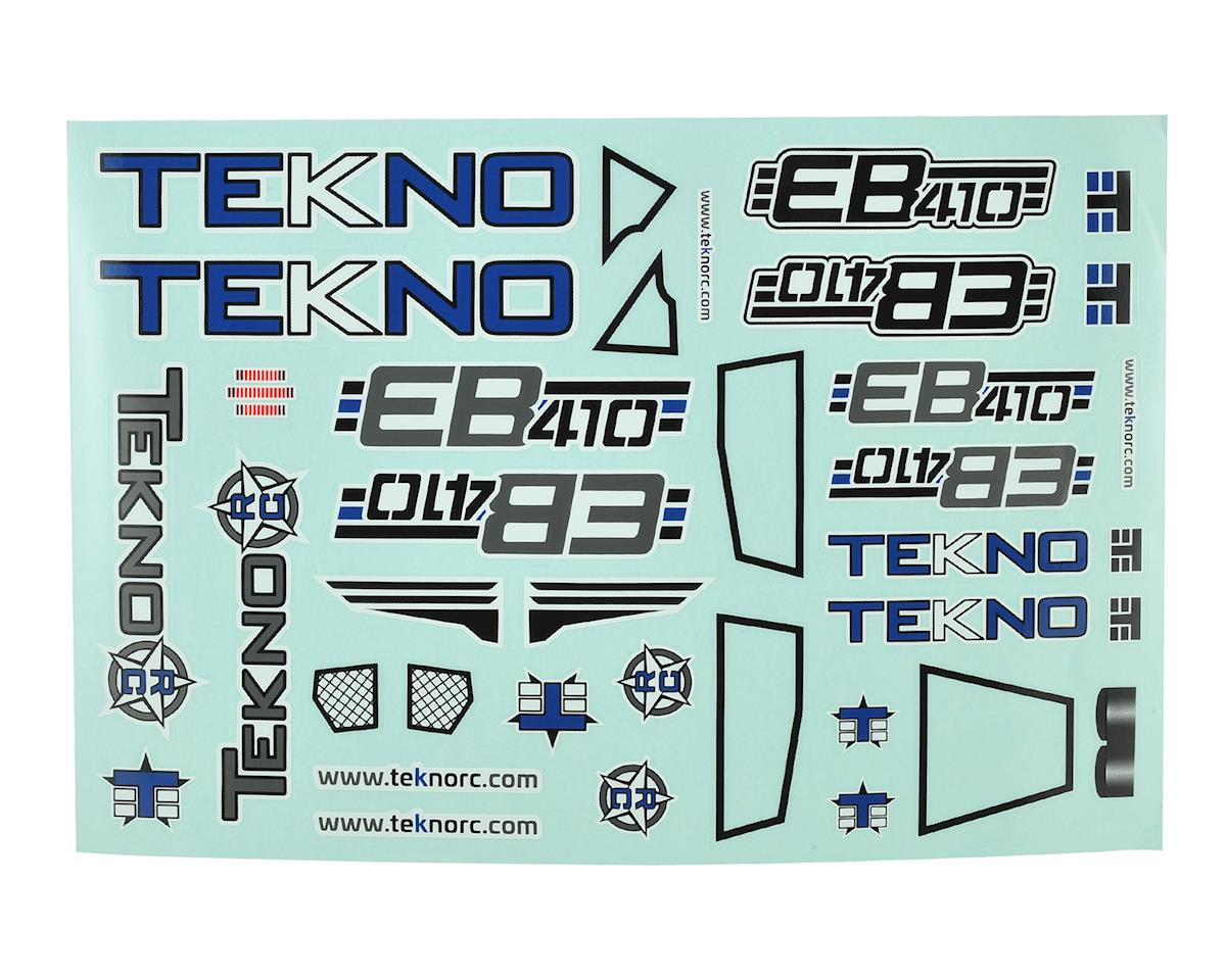 Tekno RC EB410 Decal Sheet