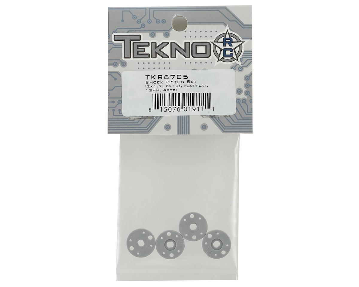 Tekno RC EB410/ET410 Shock Piston Set (4)