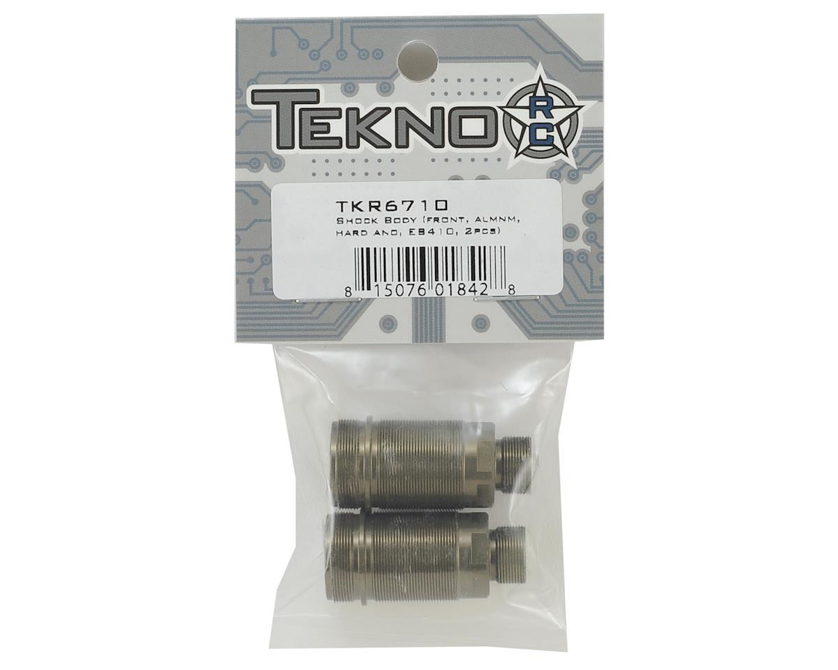 Tekno RC EB410 Aluminum Hard Anodized Front Shock Body (2)