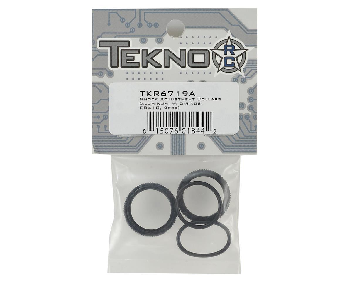 Tekno RC EB410 Aluminum Shock Adjustment Collars (2)