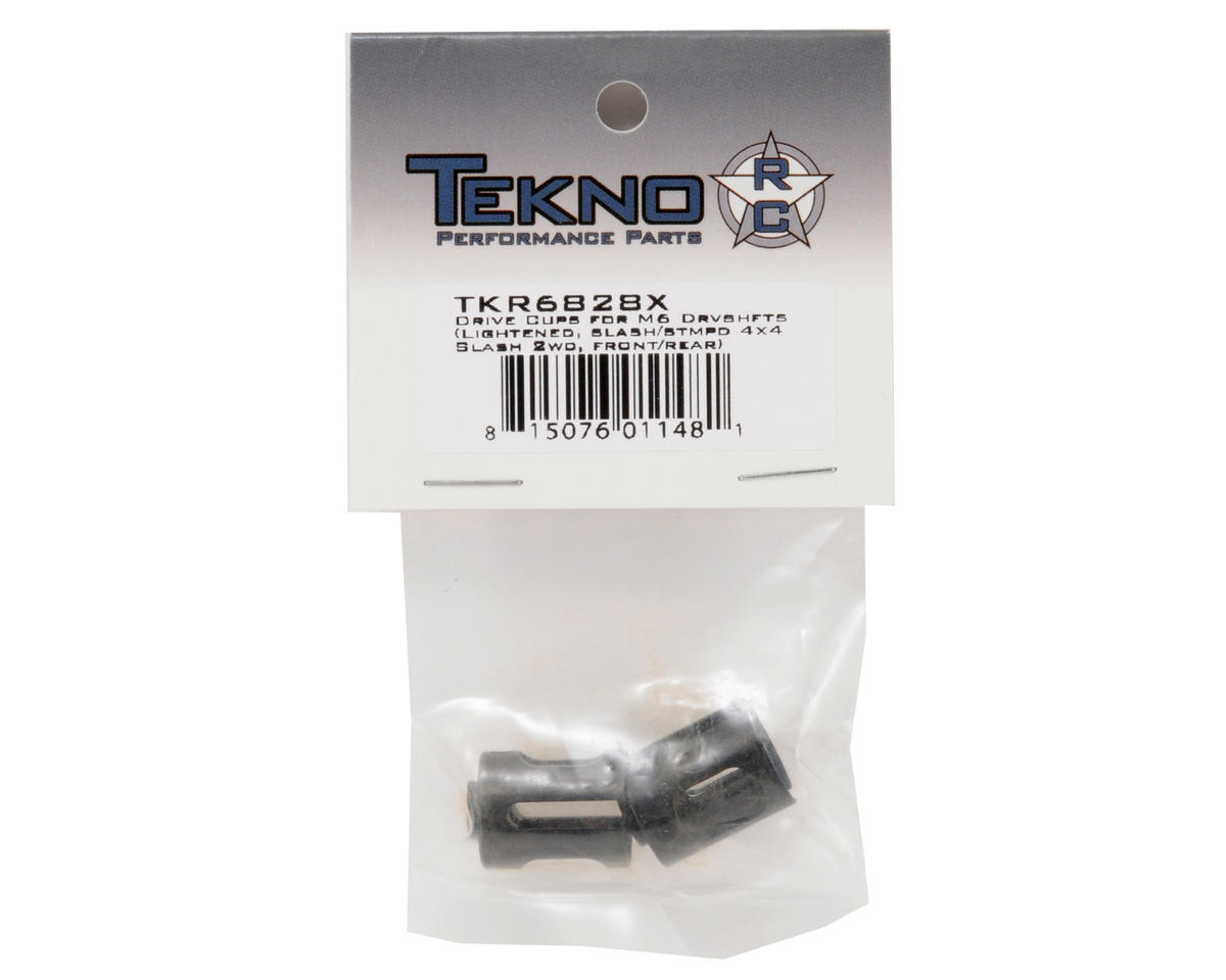 Tekno RC Lightened M6 Driveshaft Outdrive Cup Set (2)