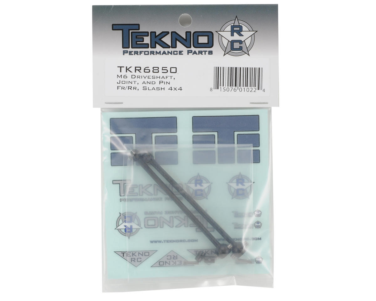 Tekno RC M6 Driveshaft Bone & Coupler Set (2) (Front/Rear)