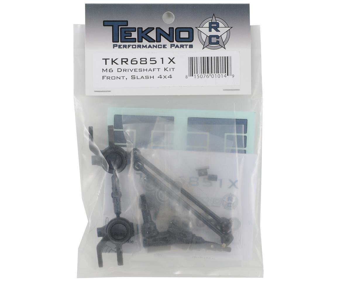 Tekno RC M6 Driveshaft & Steering Block Set (Front, 6mm)