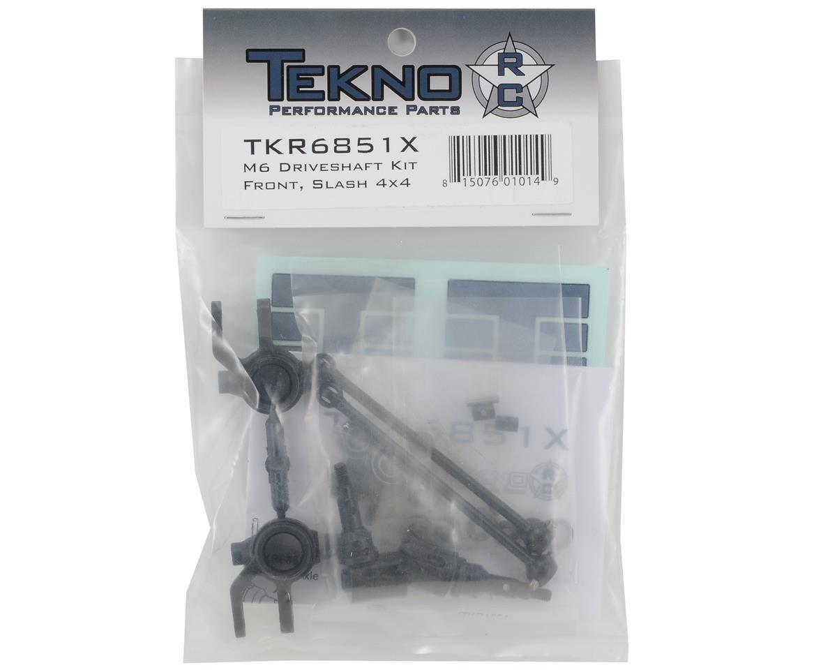 Image 2 for Tekno RC M6 Driveshaft & Steering Block Set (Front, 6mm)
