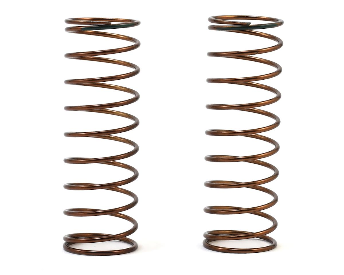 Tekno RC 63mm Rear Shock Spring Set (1.3x10.5) (Green - 2.61lb/in)