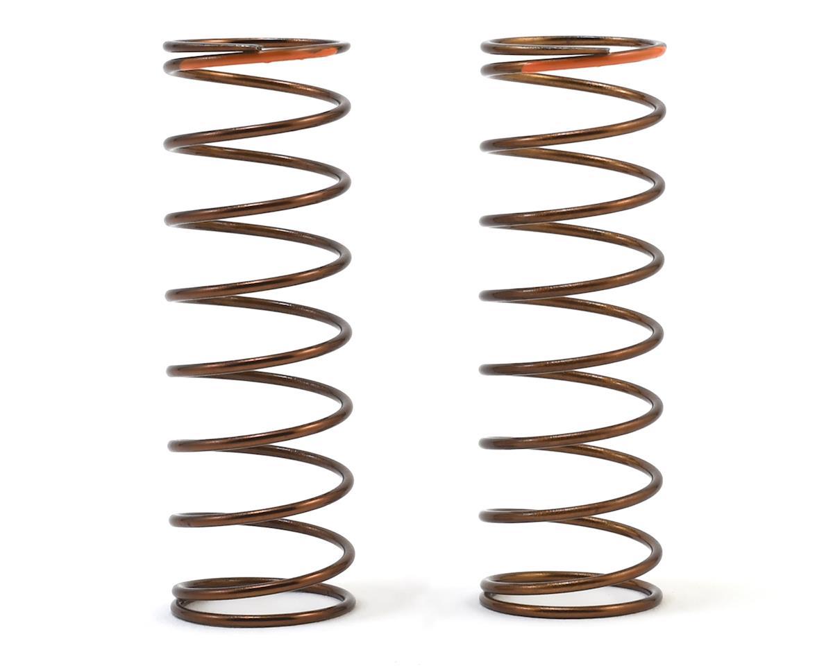 Tekno RC 63mm Rear Shock Spring Set (1.3x9.375) (Orange - 3.01lb/in)