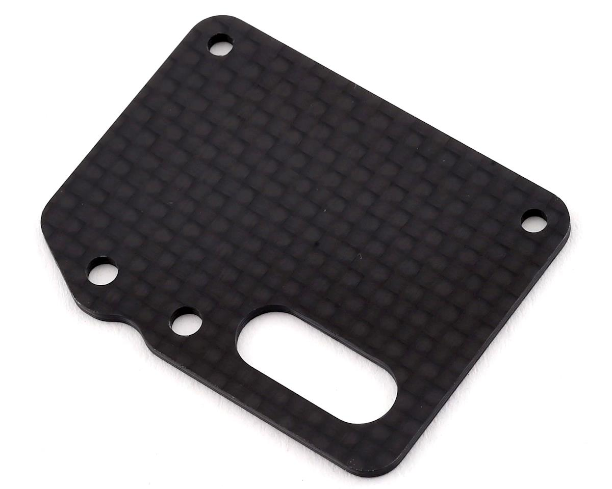Tekno RC EB410/ET410 Carbon Fiber Receiver Tray (Requires TKR6598C)