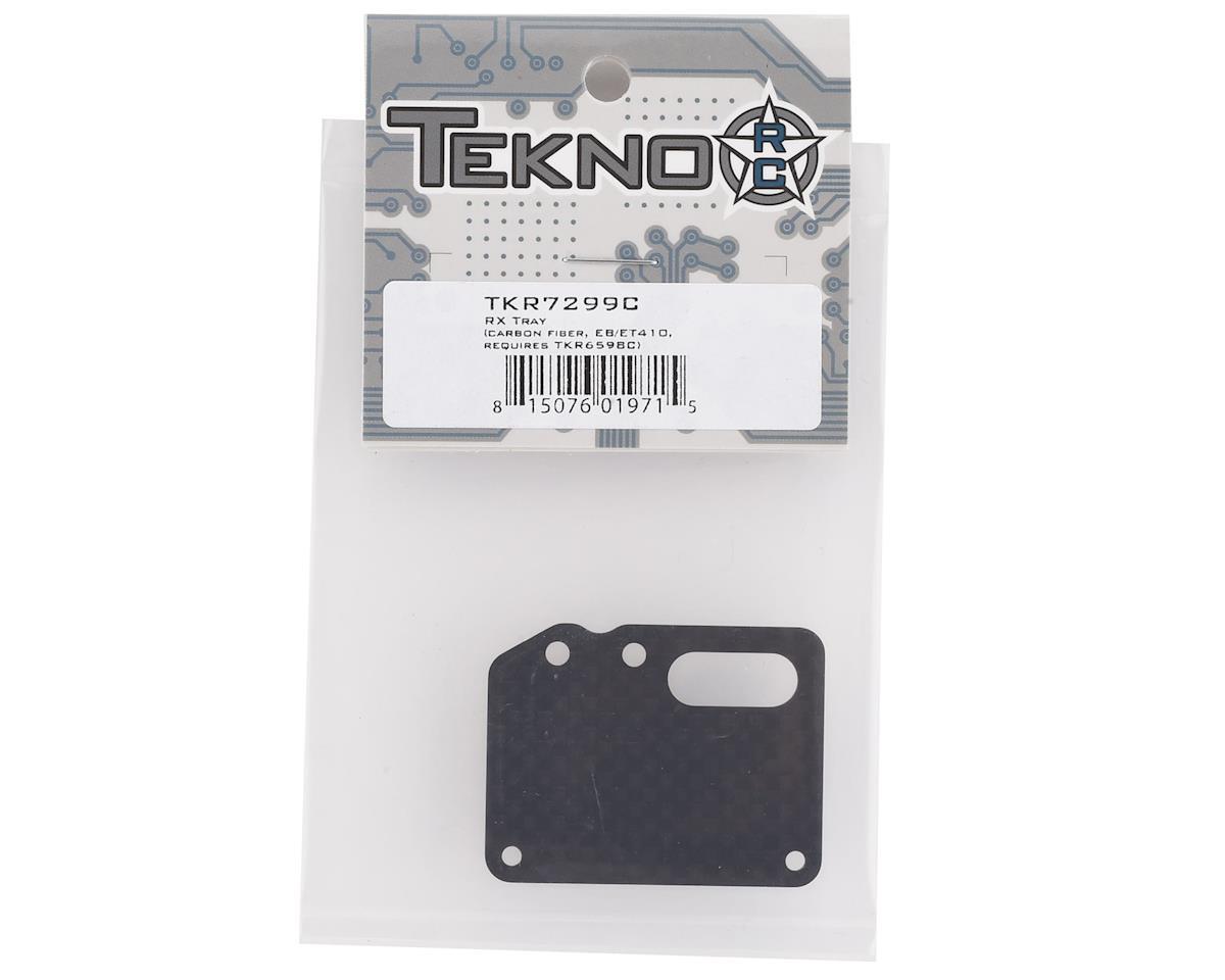 Tekno RC EB410/ET410 Carbon Fiber Receiver Tray (Requires TKR6598C)