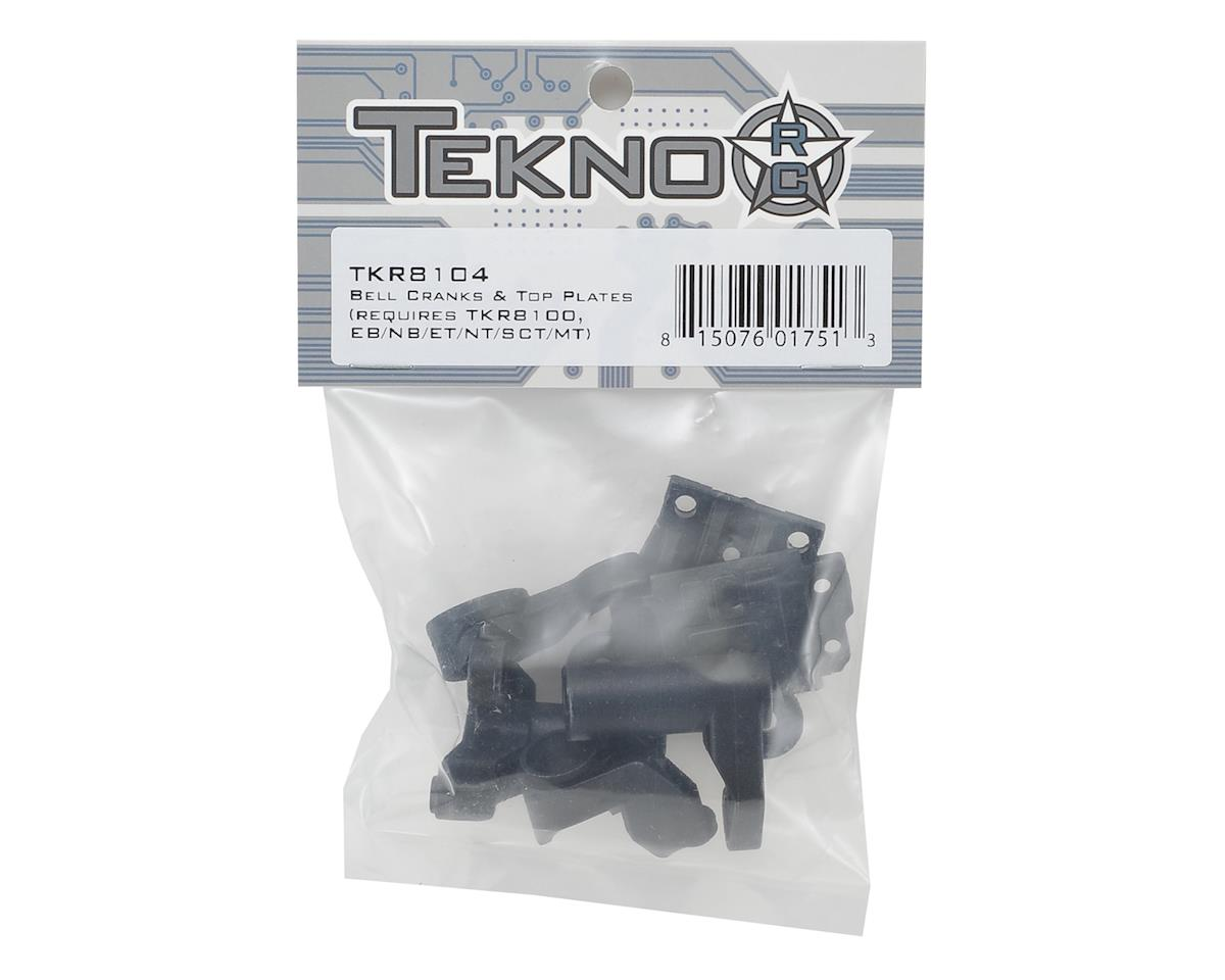 Tekno RC Steering Bellcrank & Differential Top Plate Set (Updated)