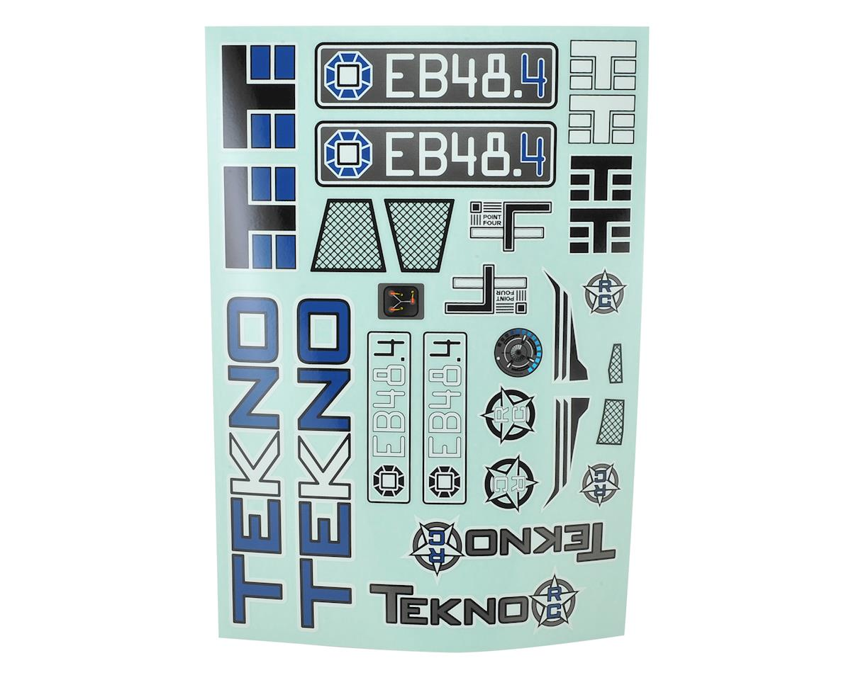 Tekno RC EB48.4 Decal Sheet