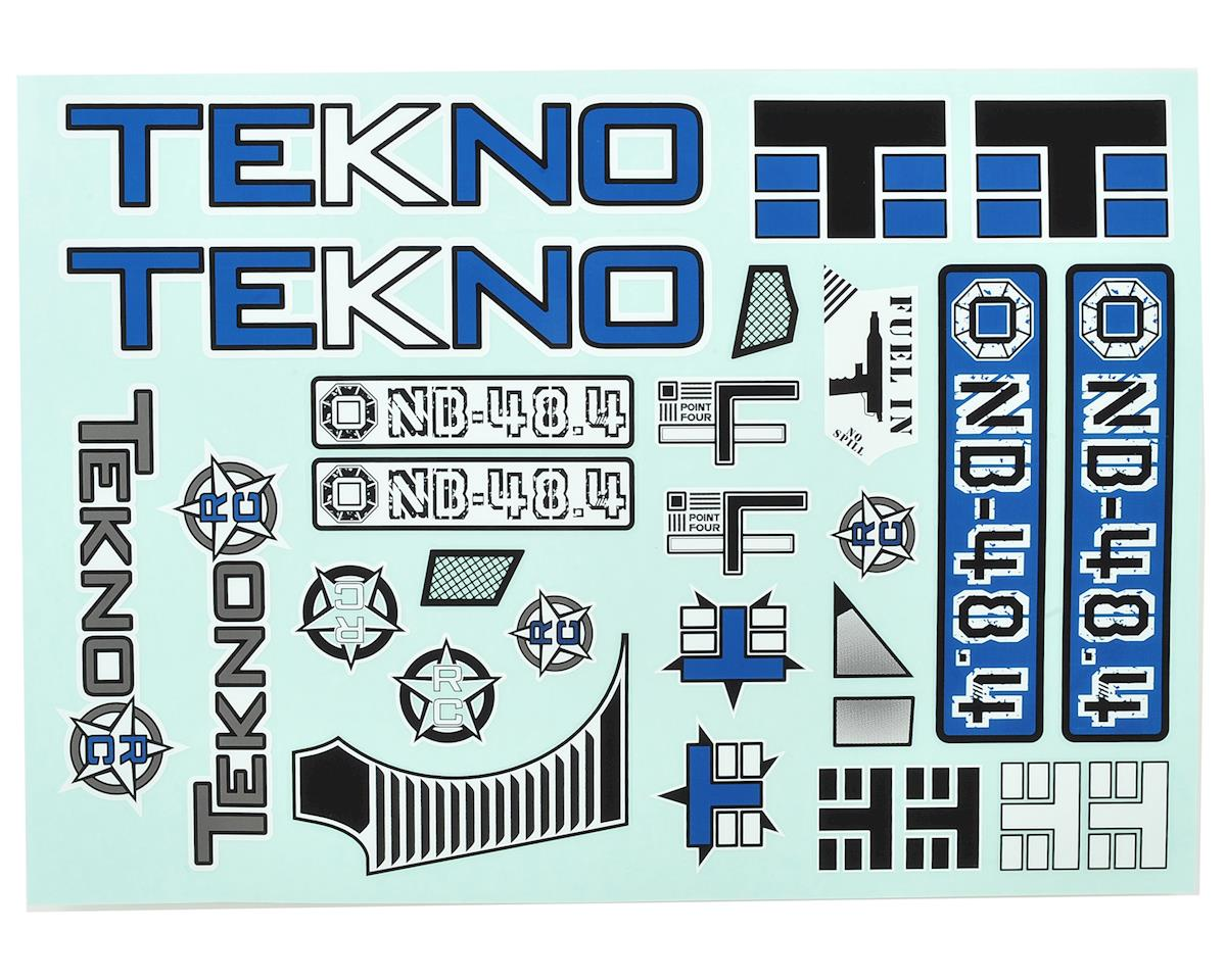 Tekno RC NB48.4 Decal Sheet