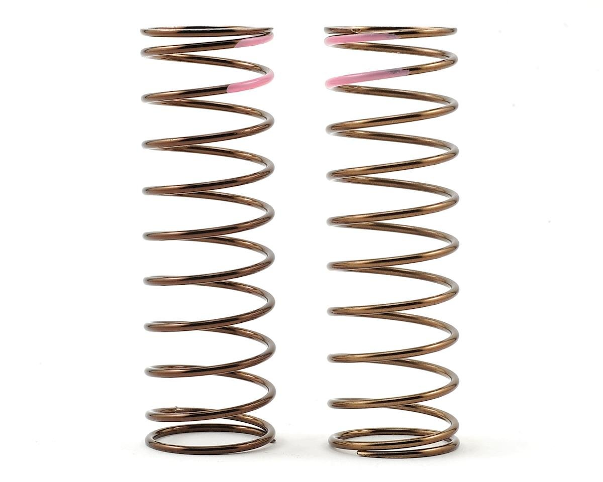 Tekno RC Low Frequency 75mm Front Shock Spring Set (Pink - 3.82lb/in)