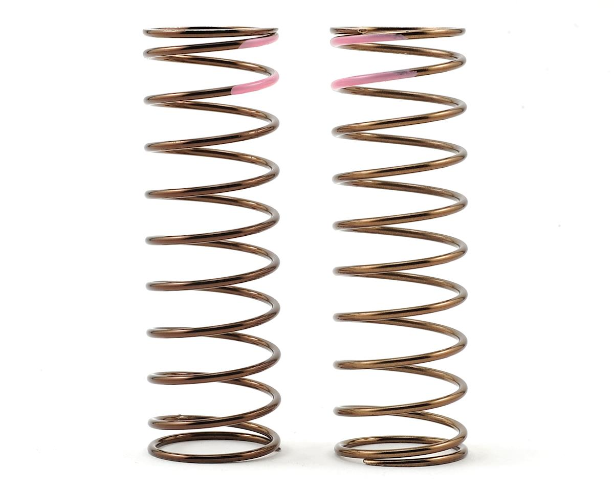 Low Frequency 75mm Front Shock Spring Set (Pink - 3.82lb/in) by Tekno RC