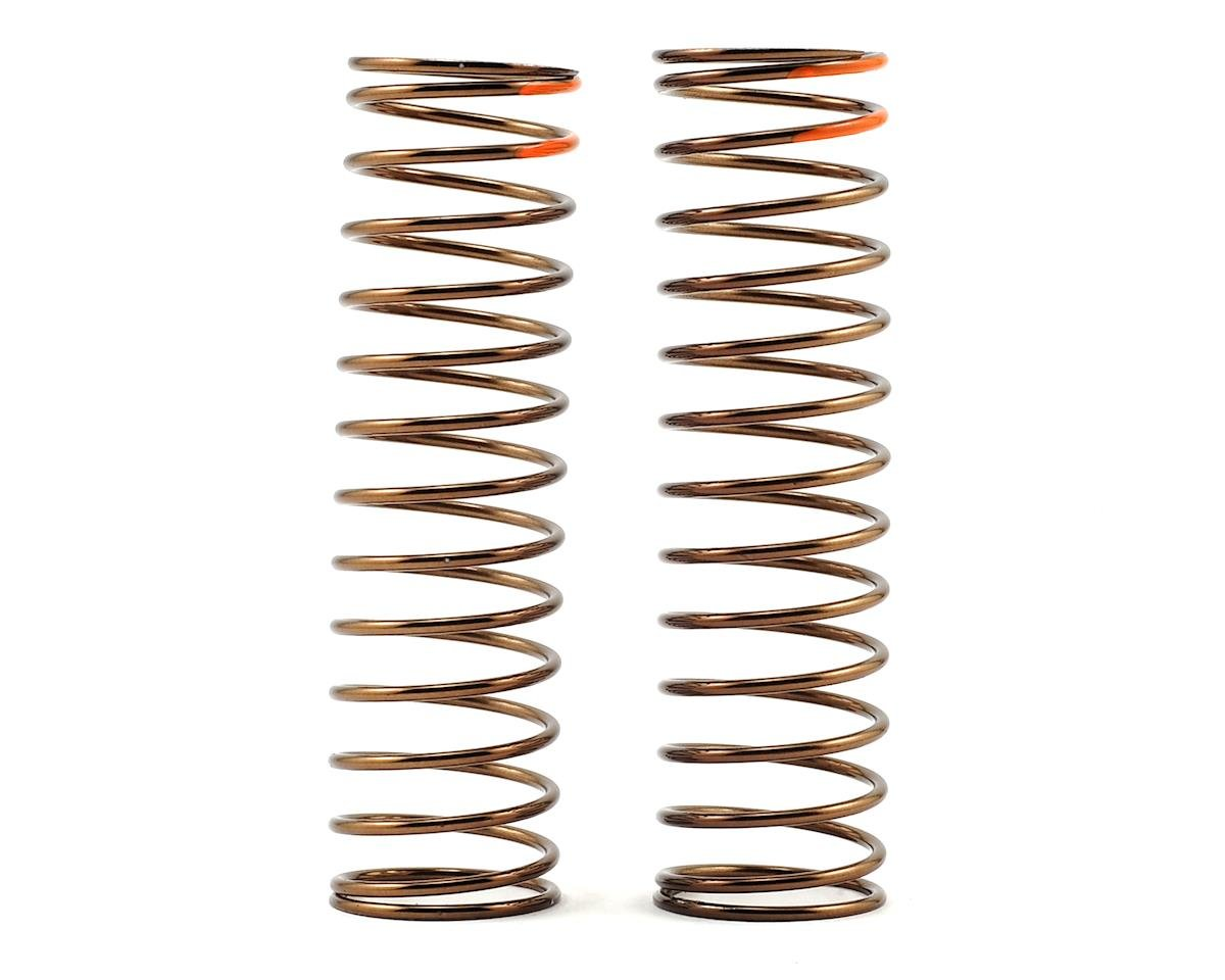 Low Frequency 85mm Rear Shock Spring Set (Orange - 2.75lb/in) by Tekno RC