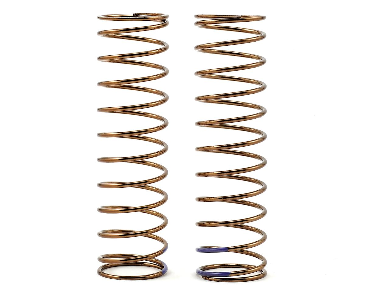 Tekno RC Low Frequency 85mm Rear Shock Spring Set (Purple - 3.37lb/in)
