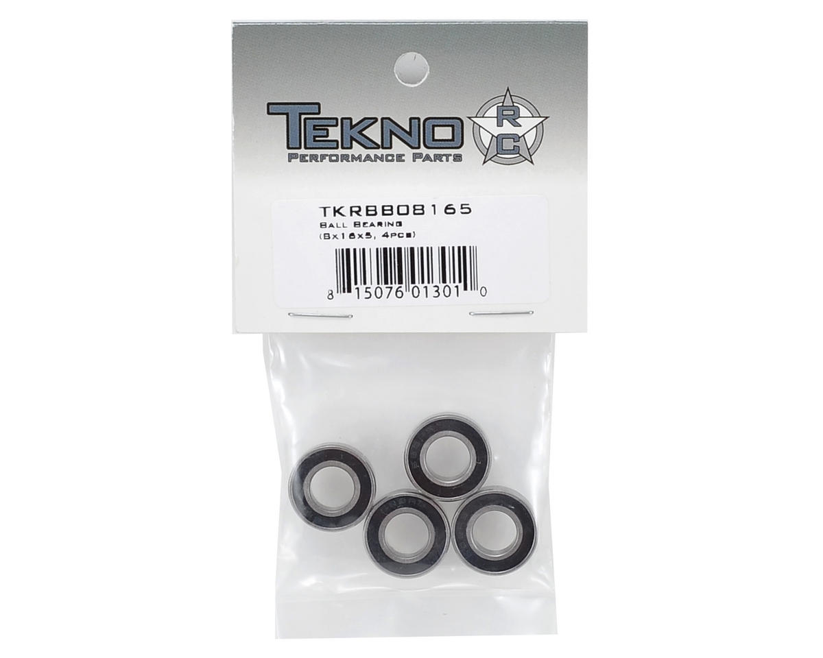 Tekno RC 8x16x5mm Shielded Bearing Set (4)