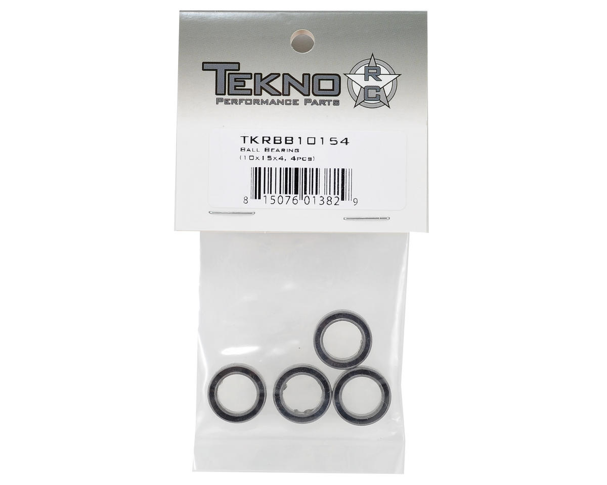 Image 2 for Tekno RC 10x15x4mm Ball Bearing (4)
