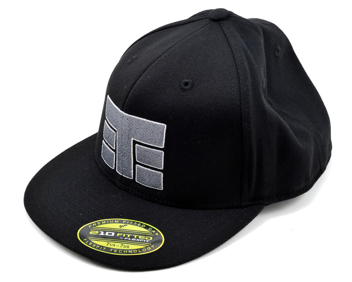 "Tekno RC ""T-Logo"" Flex-Fit Flat Bill Hat (X-Large)"