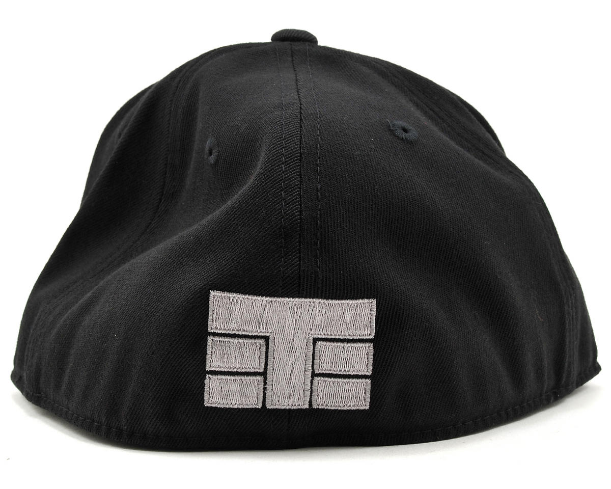 "Tekno RC ""Flat Bill"" FlexFit Cap (Black) (S/M)"