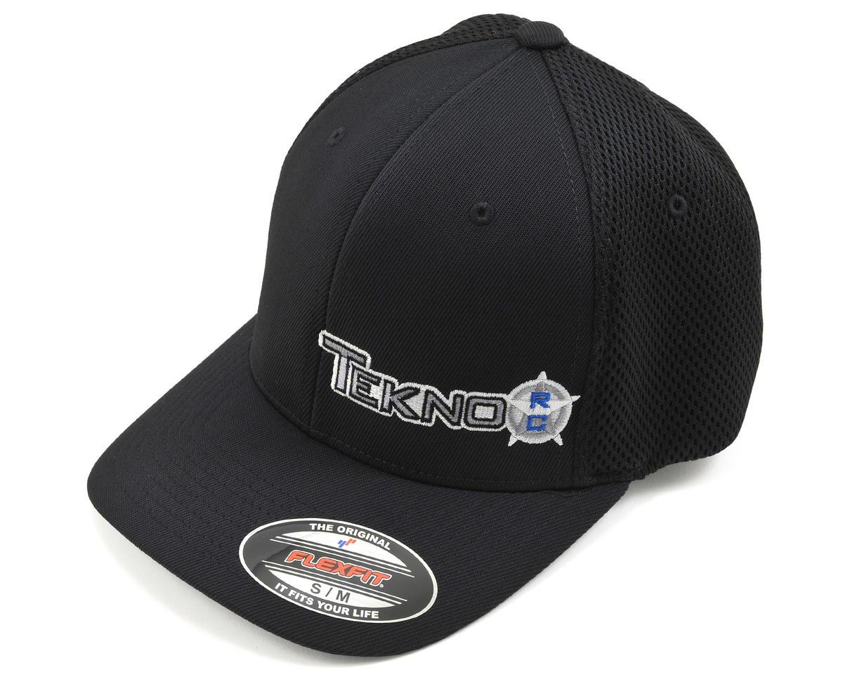 Tekno RC Round Bill FlexFit Mesh Back Cap (Black) (S/M)