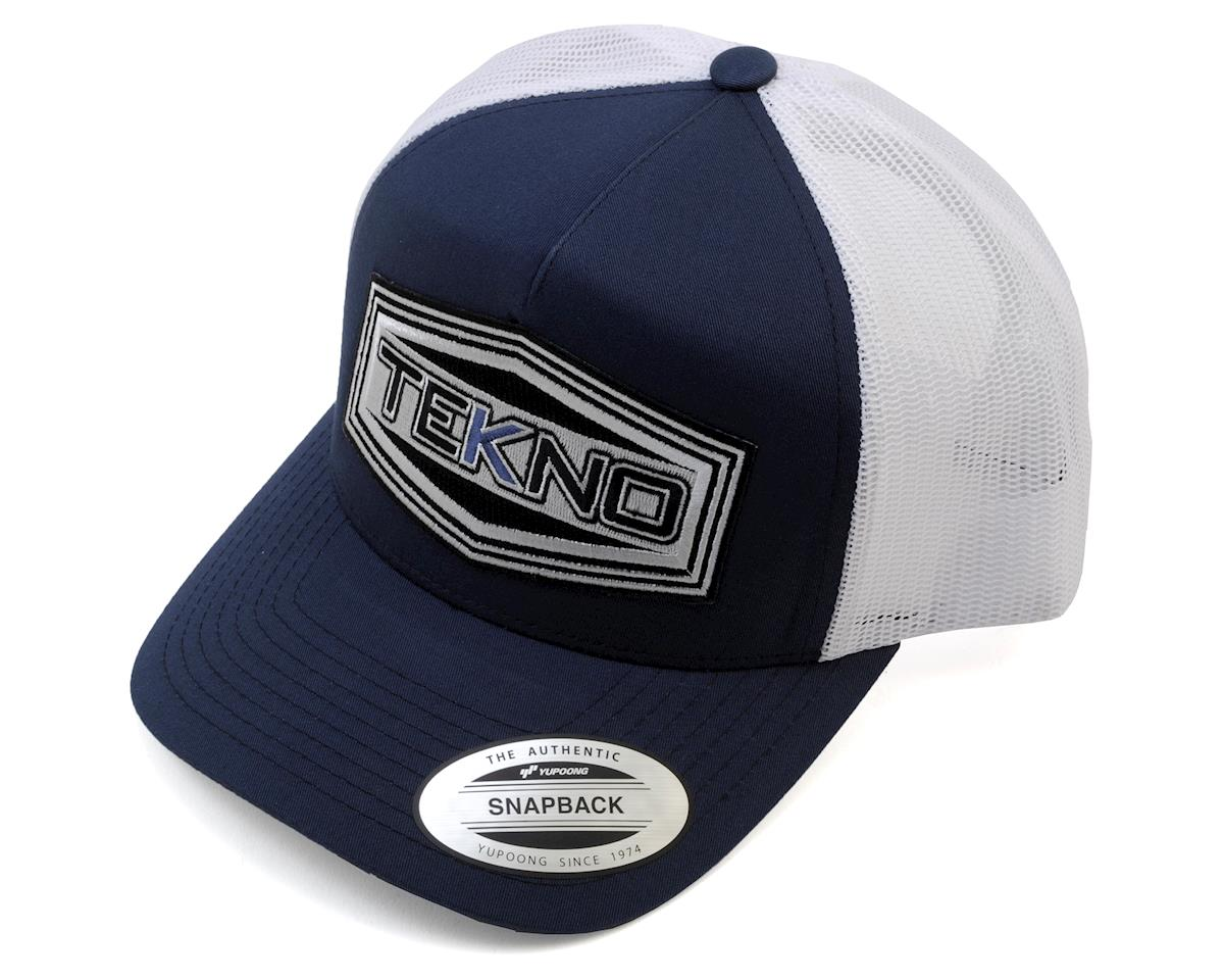 Tekno RC Round Bill Mesh Back Trucker Cap