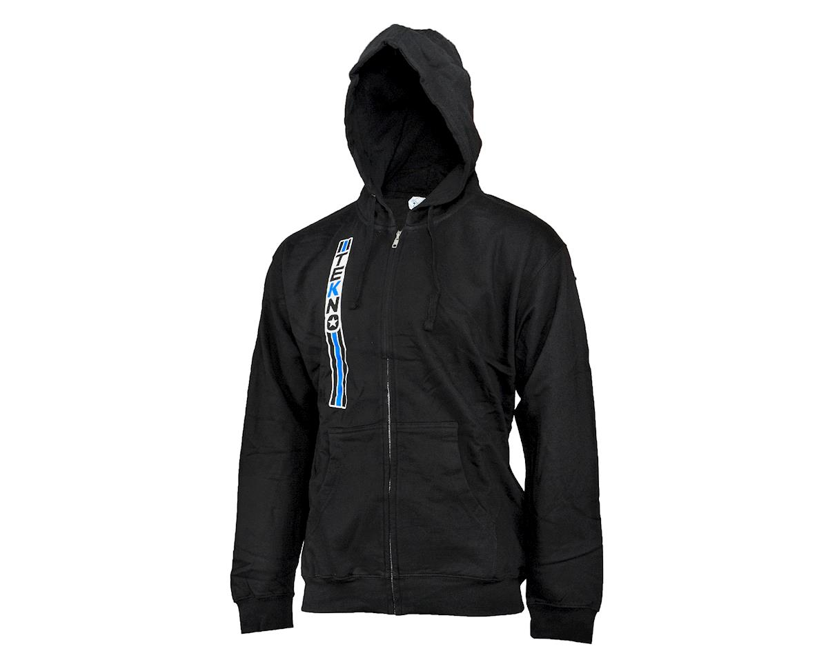 "Vertical ""Stripe"" Hoodie (Black) (M) by Tekno RC"