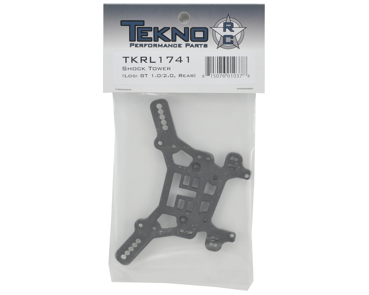 Tekno RC 5mm Losi 8T Rear Shock Tower (Hard Anodized)
