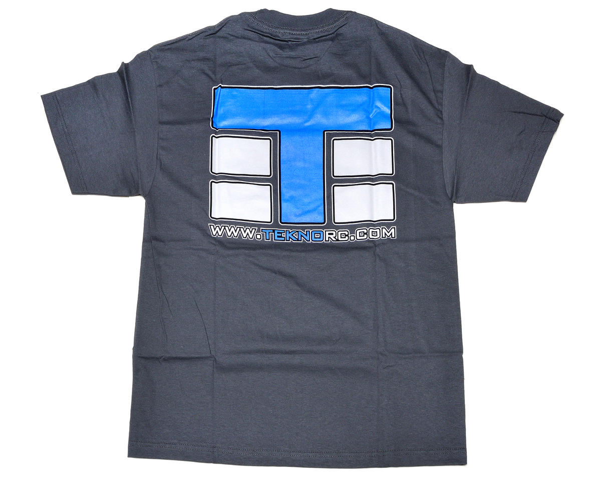 "Tekno RC Dark Gray ""T-Logo"" T-Shirt (2X-Large)"