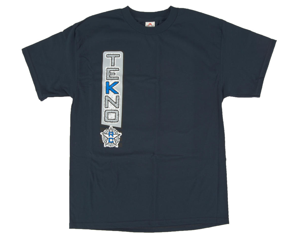 "Tekno RC Navy Blue ""Vertical"" T-Shirt"