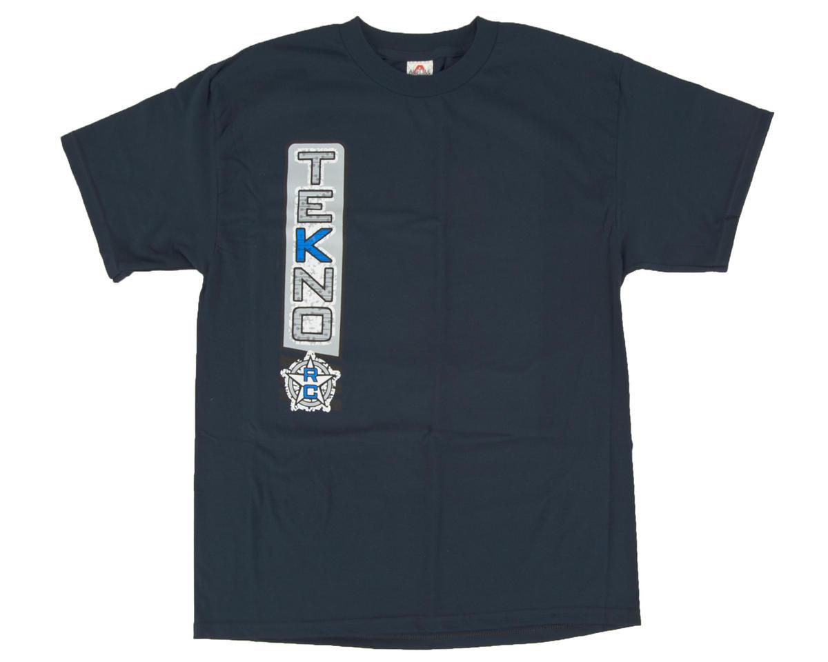 "Tekno RC Navy Blue ""Vertical"" T-Shirt (M)"