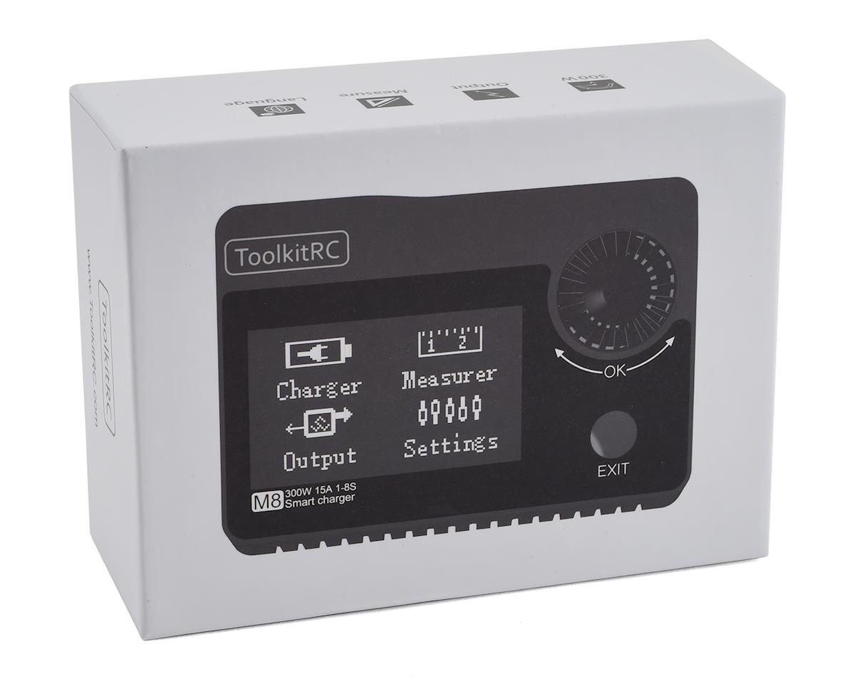 ToolkitRC M8 DC Battery Charger Workstation (8S/15A/300W)