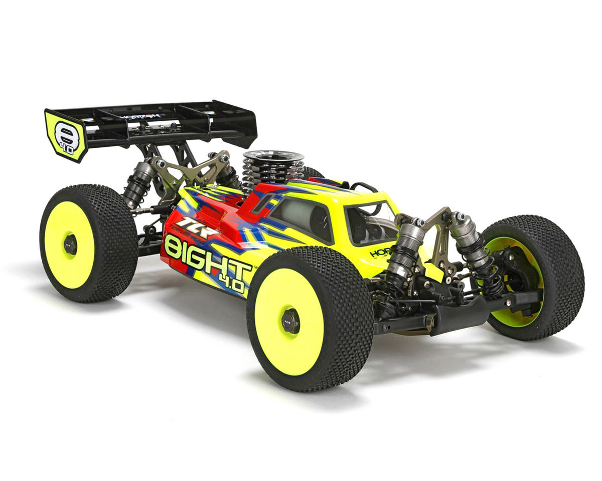8IGHT 4.0 1/8 4WD Nitro Buggy Kit by Team Losi Racing